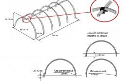 Крепление парника из пластиковых труб