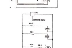 Схема устройства электрического автоматического проветривания