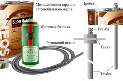 Составные части автомата на основе перелива жидкости