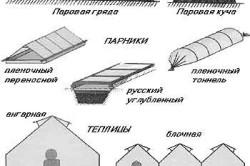 Примеры типов парников