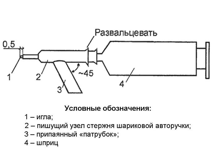 Схема самодельного мини-