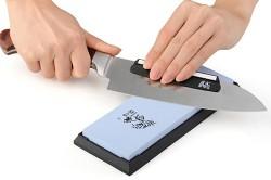 Заточка ножа бруском