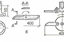 Чертеж ножей для газонокосилки