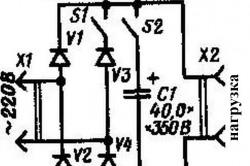 Схема подставки к паяльнику для автоматической регулировки температуры