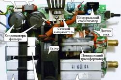 Принципиальная схема сварочного аппарата инверторного типа