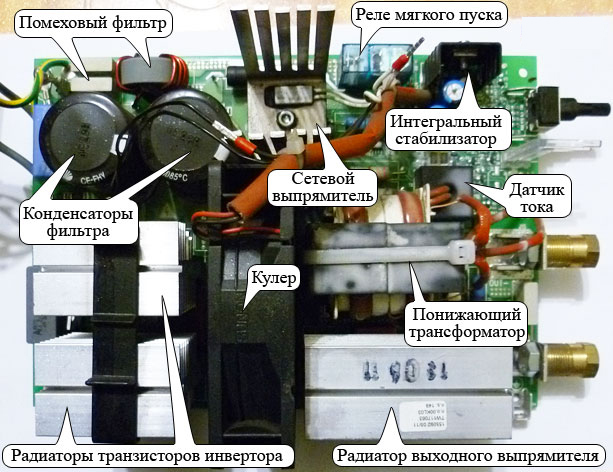 Как сделать Ремонт инверторных сварочных аппаратов своими