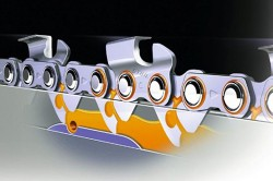 Проверка натяжки цепи в бензопиле