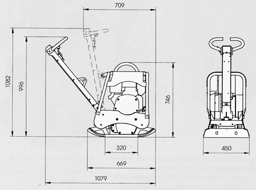 Схема инвертор 12-220